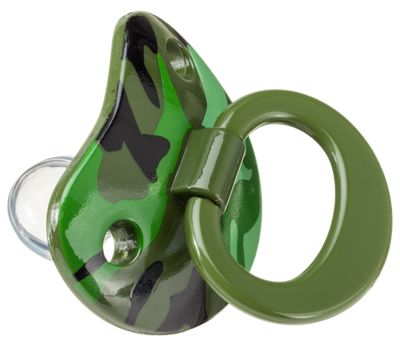 Billy-Bob Camo Baby Pacifier