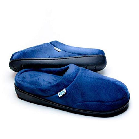 Elite Comfort Pedic Memory Foam Slippers- Large (M 9-10/ W 11-12)