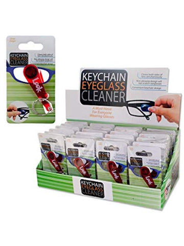 Keychain Eyeglass Cleaner