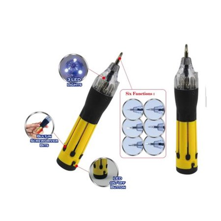 6-n-1 Multifunction Screwdriver