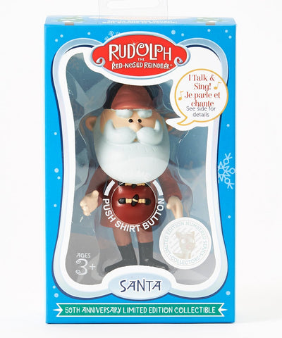 Rudolph's 50th Anniversary Limited Edition Collectible- Talking Santa