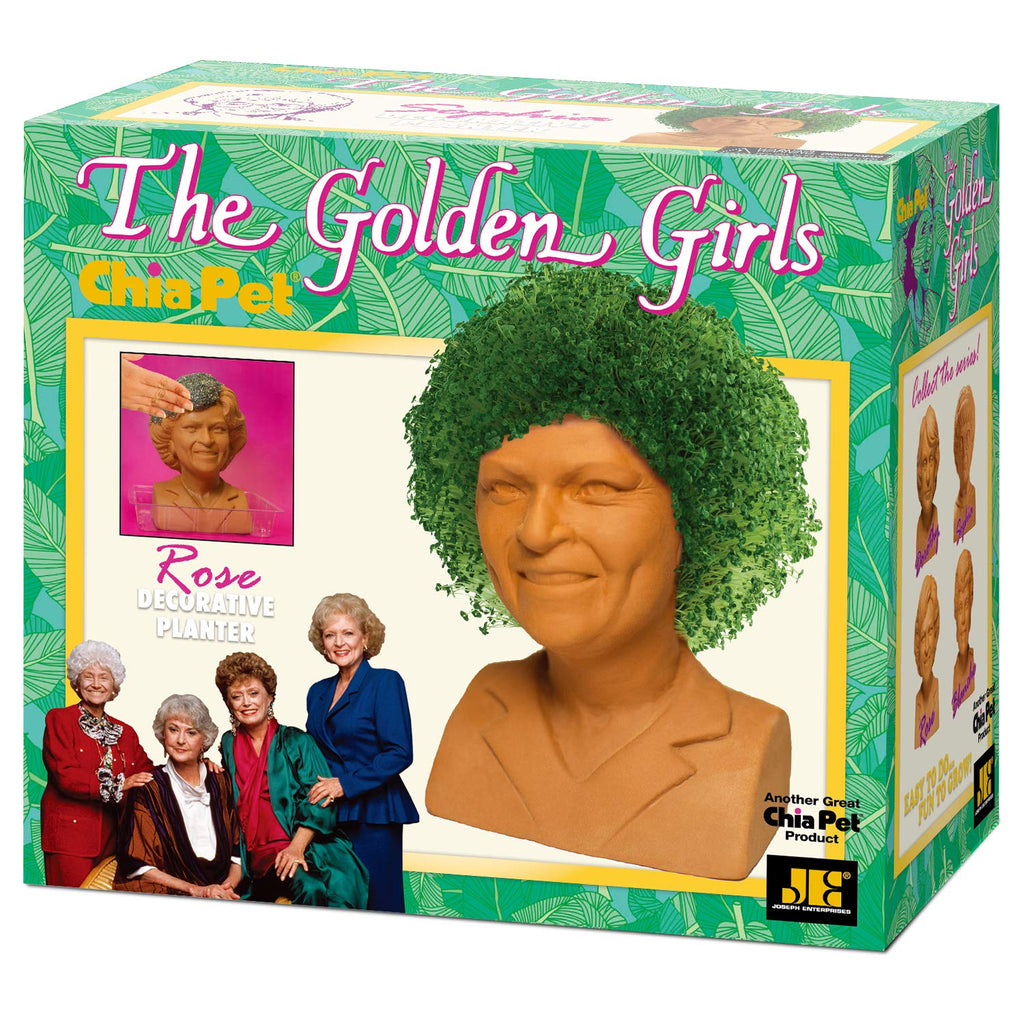 Chia Pet Planter - The Golden Girls- Rose