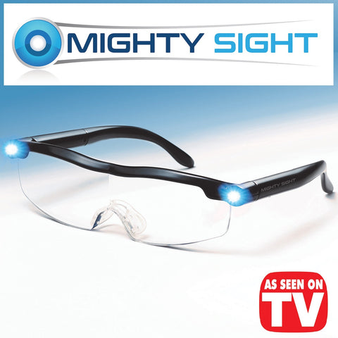 Mighty Sight LED Magnifying Eyeglasses