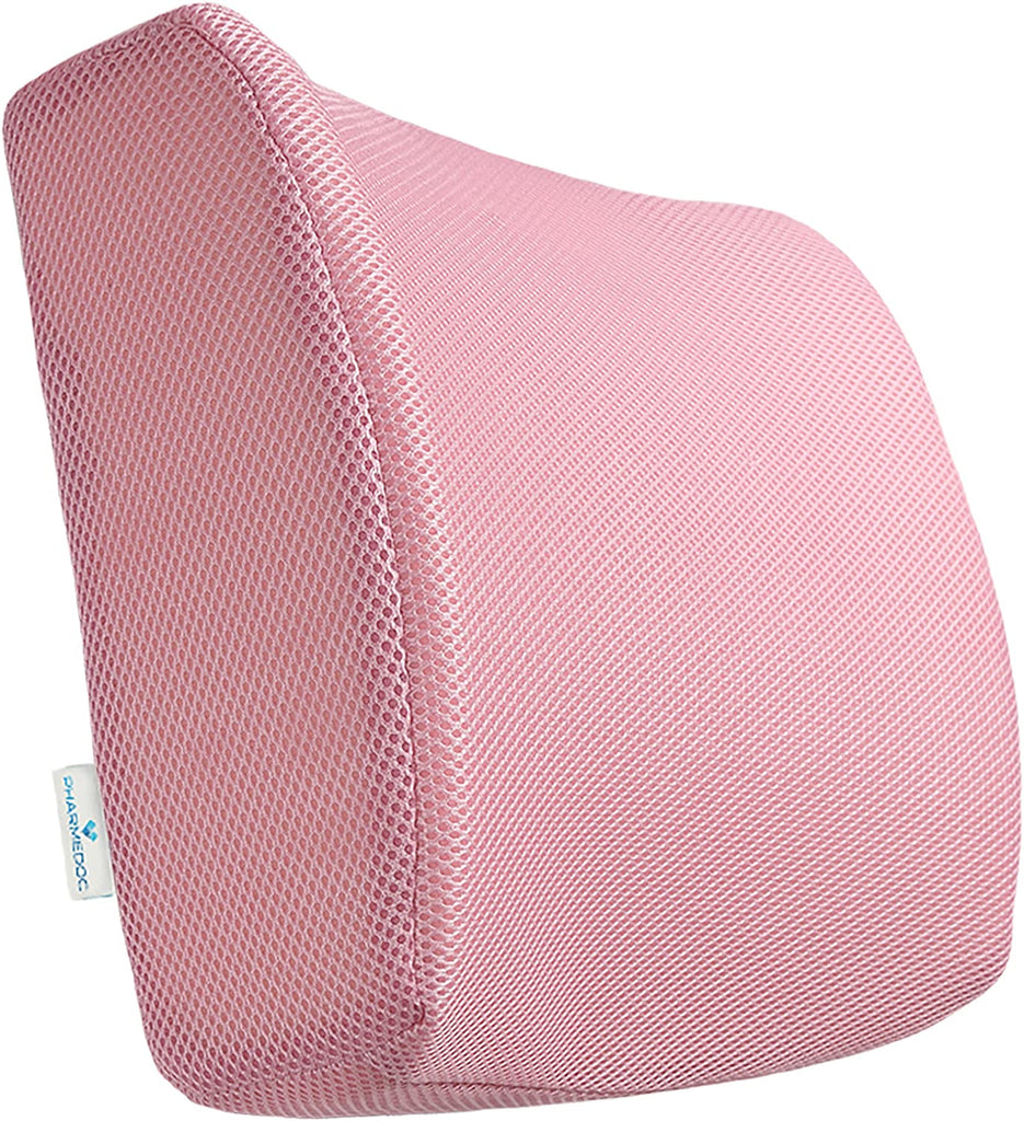 PharMeDoc  Lumbar Support Cushion- PINK
