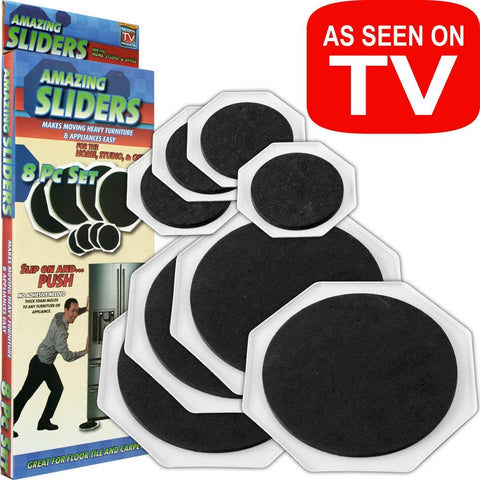 Amazing Sliders Furniture Mover Assistant, Set of 8