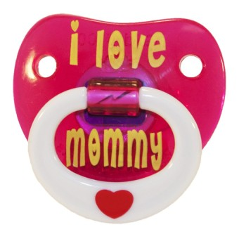 Billy-Bob 'I Love Mommy' Pacifier
