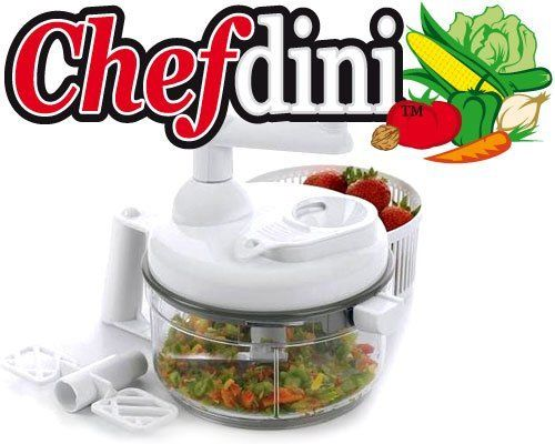 Chefdini Food Processor, White