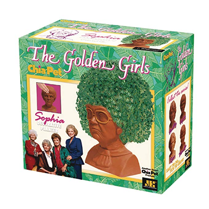 Chia Pet - The Golden Girls- Sophia