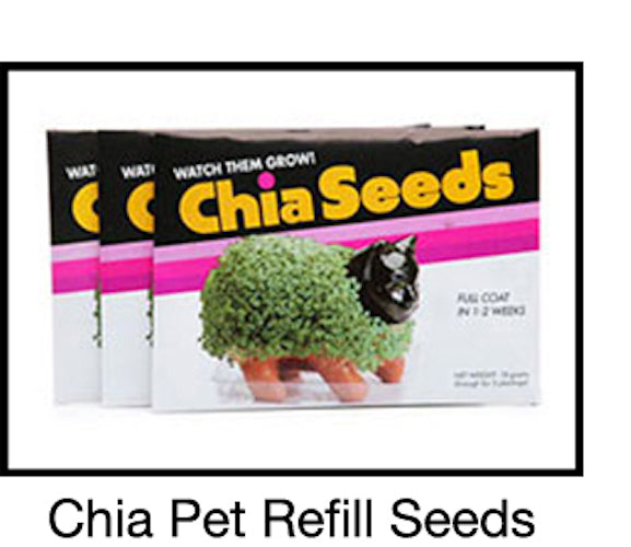 Chia Pet Planter - Seeds (Pack Of 3)