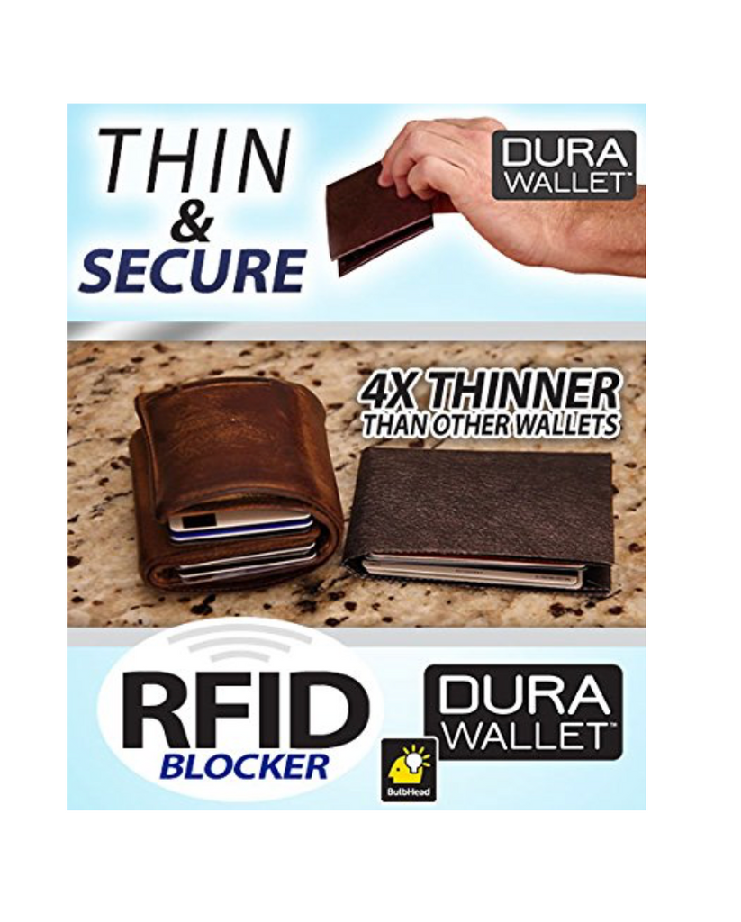 DuraWallet -Brown-  2 Pack