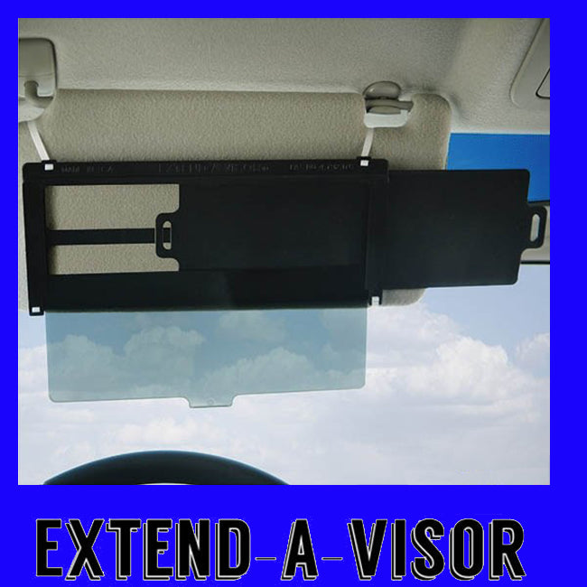 EXTEND-A-VISOR-THE SUPER SUN BLOCKER!