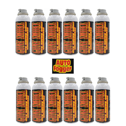 Gone Smoke Auto Fogger Smoke Eliminator, car air freshener, 3 oz. (Set of 12)