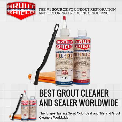 Grout Shield GS8IWH 8-Ounce Color Seal Kit, White