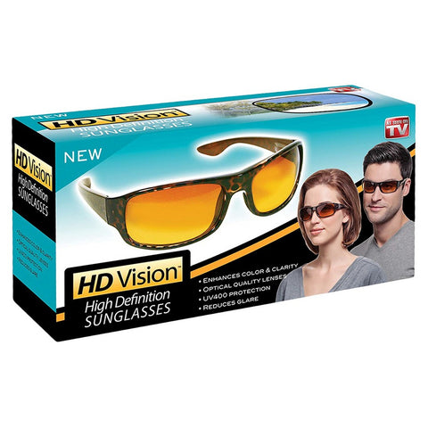 HD Vision  Sunglasses- Unisex- Black