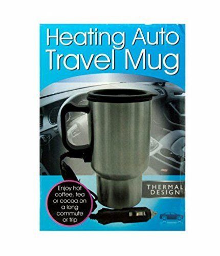 Heating Auto Travel Mug, Case of 2