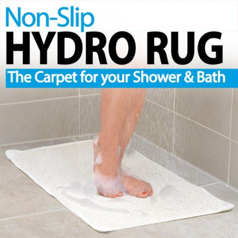 Non-Slip Hydro Rug - For Shower or Bath (29.5 x 17.25)