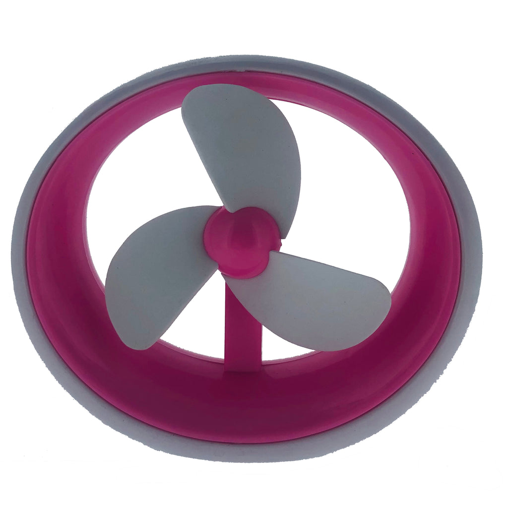 USB Personal Desk Fan- A Perfect Desktop Companion- Pink