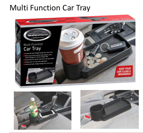 Auto Effects Multi Function Car Tray
