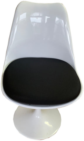Non-Slip Stretchable Seat Cover- Polyester- Black