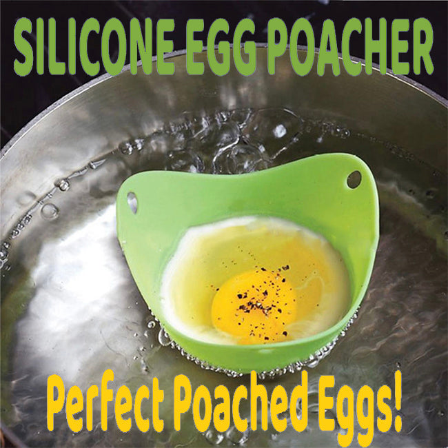 Silicone Egg Poachers- Set of 4