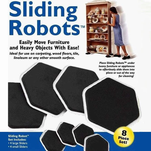 Smooth Sliding Furniture Sliders - 8 Piece Set