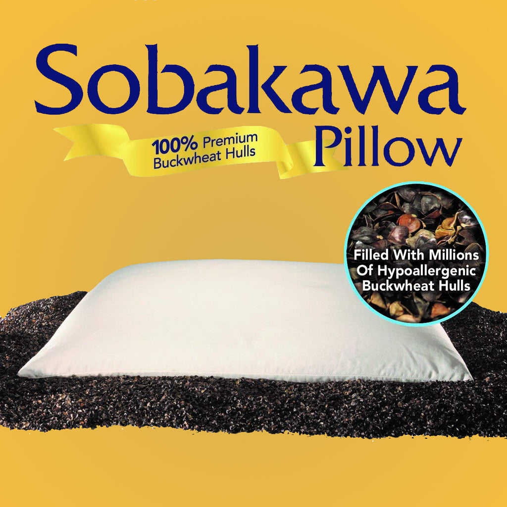 "Original Sobakawa Buckwheat Pillow, 19"" x 15"""