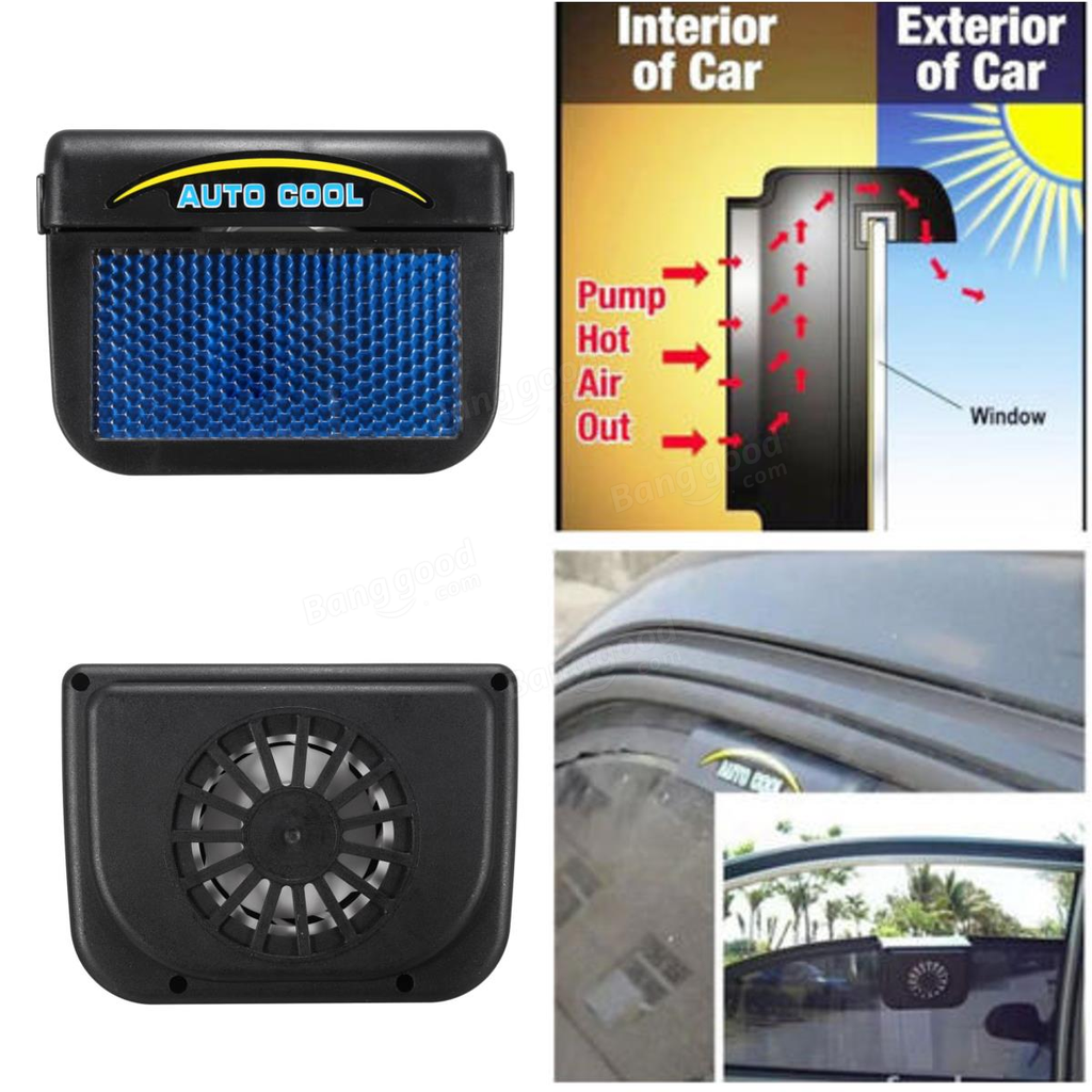 Auto Fan Solar Powered Ventilation System