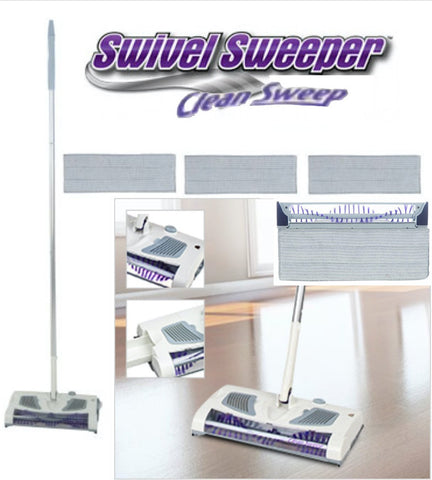 As Seen on TV Swivel Sweeper Clean Sweep