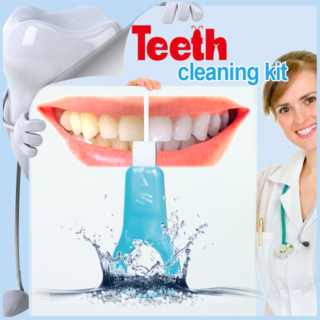 One Minute White Teeth Cleaning Kit