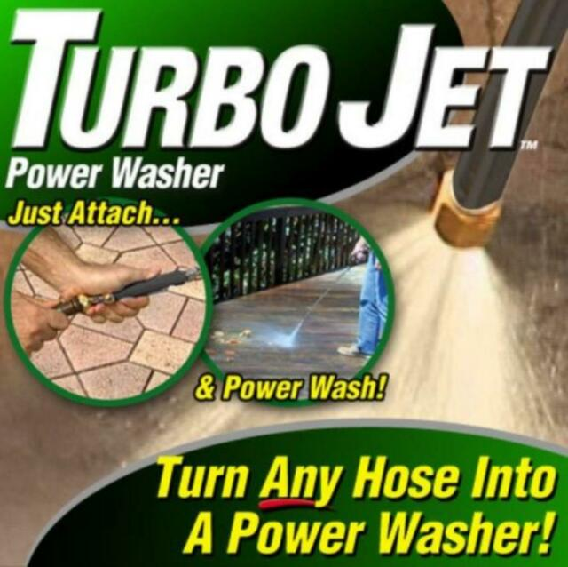 Turbo Jet Power Washer, High Pressure Spray Nozzle