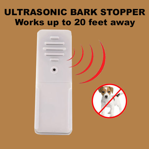 Wireless Ultrasonic Bark Stopper