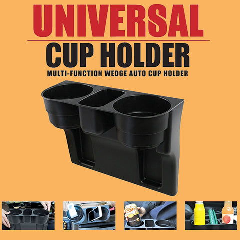 Universal Cup Holder Multi-Function Wedge Auto Cup Holder