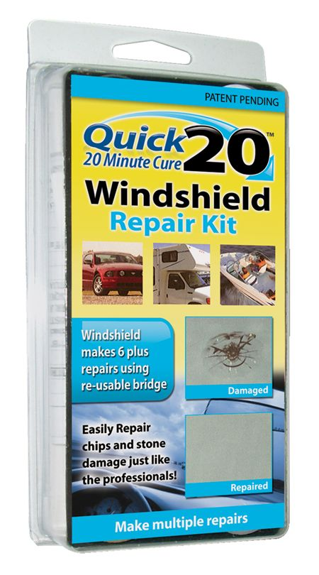Quick 20 Professional Windshield Repair Kit