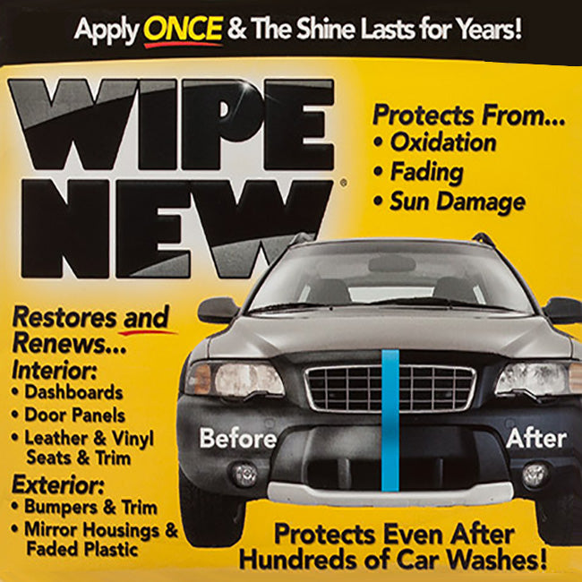 Wipe New Trim Restorer Wipe-On Applicator