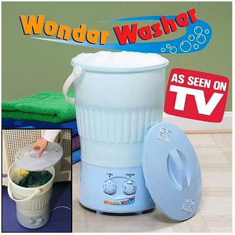 Wonder Washer - Mini Clothes Washing Machine
