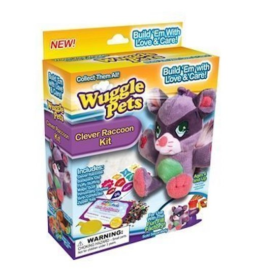 WUGGLE PETS- Clever Raccoon Kit