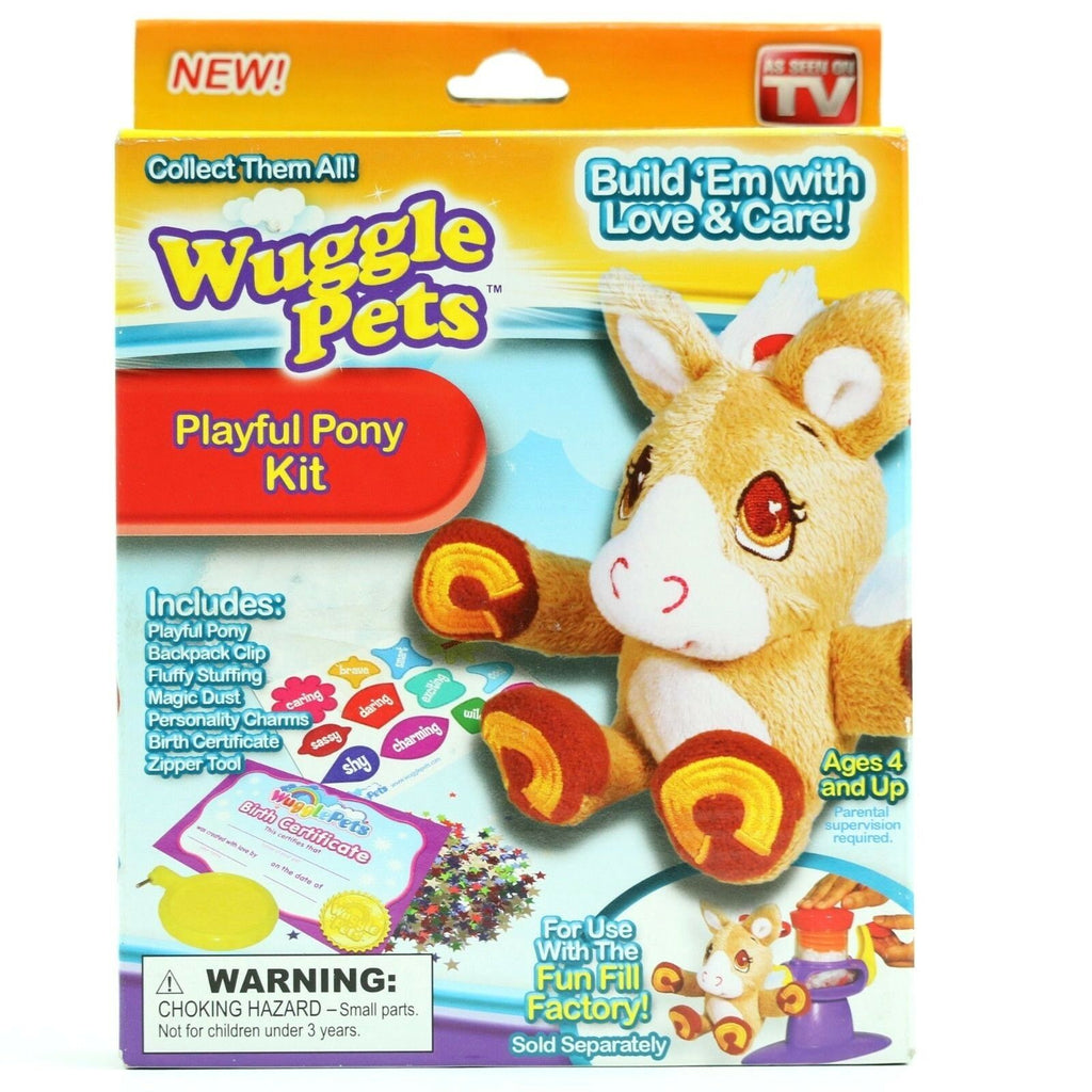 WUGGLE PETS- Playful Pony Kit