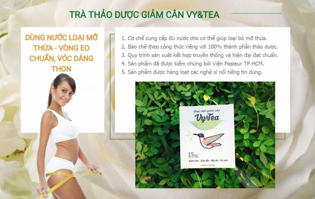 2 boxes Vy&Tea Natural Herbal Tea Help Weight Loss, And Purifying The Body - Men Guide Store
