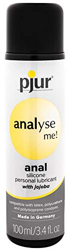 Analyse Me Silicone Based Special Lubricant for Anal Sex Unisex Personal Lube | 3.4 fl.oz/100ml