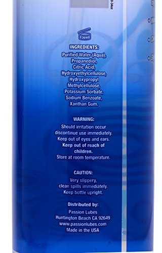 Passion Lubes, Natural Water-Based Lubricant, 34 Fluid Ounce - Men Guide Store