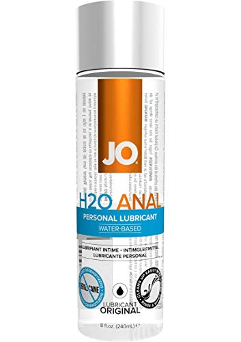 JO H2O Anal Water Based Personal Natural Lubricant,