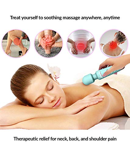 Rechargeable Handheld Personal Wand Massager Wireless & Waterproof