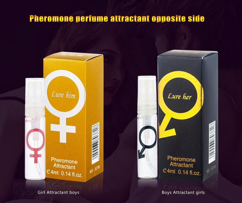 4ML Pheromone Perfume Aphrodisiac Woman Orgasm Body Spray Flirt Perfume Attract Girl - Men Guide Store