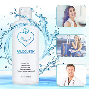 PALOQUETH Personal Lubricants Water Based Lubricant For Women - Men Guide Store