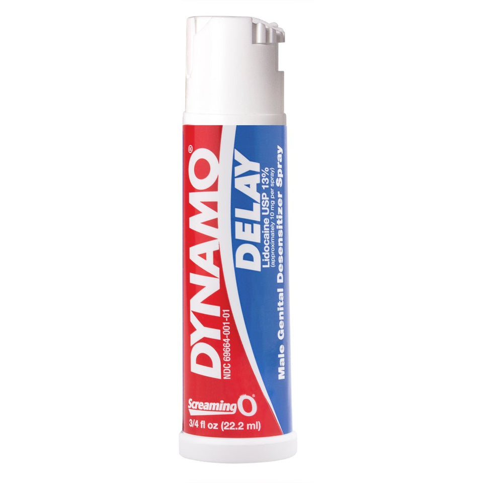 SCREAMING O Dynamo Delay Male Desensitizing Spray with Maximum Strength - Men Guide Store