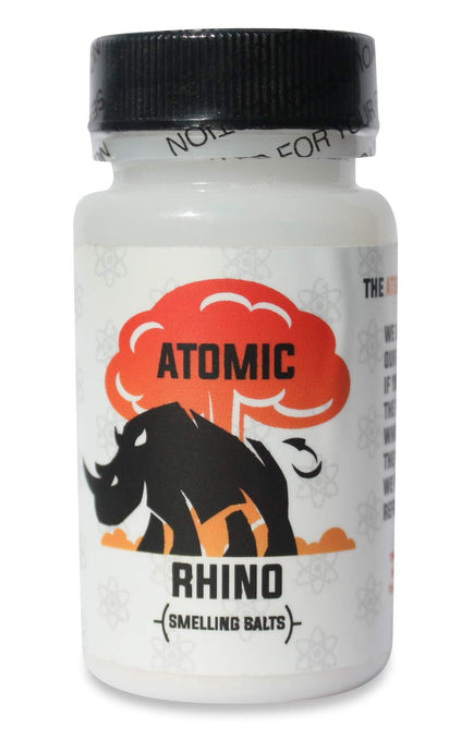 Atomic Rhino | Smelling Salts for Athletes | 100's Of Uses per Bottle | Explosive Workout Sniffing Salts for Massive Energy Boost | Just Add Water to Activate Pre Workout - Men Guide Store