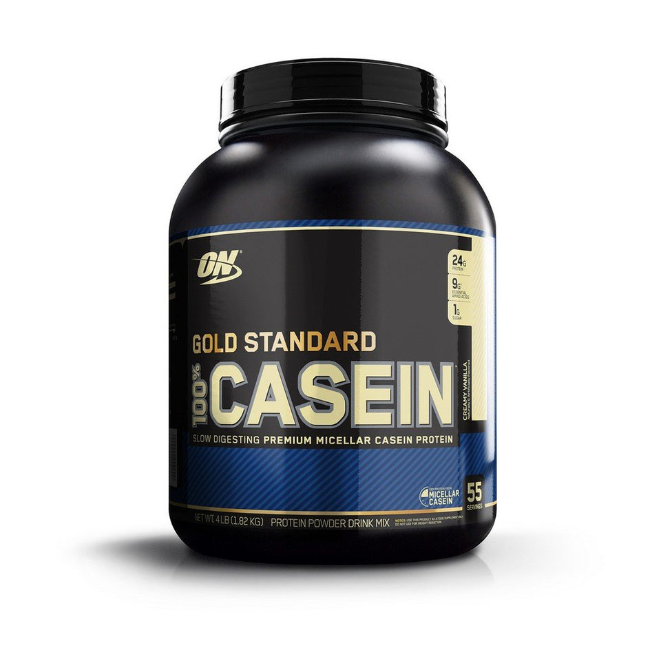OPTIMUM NUTRITION GOLD STANDARD 100% Micellar Casein Protein Powder, Slow Digesting, Helps Keep You Full, Overnight Muscle Recovery, Creamy Vanilla, 1.81 kg - Men Guide Store