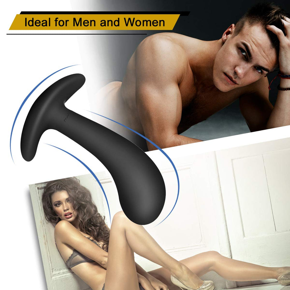 Butt Plug Trainer Kit for Comfortable Long Sex Toys for Beginners - Men Guide Store