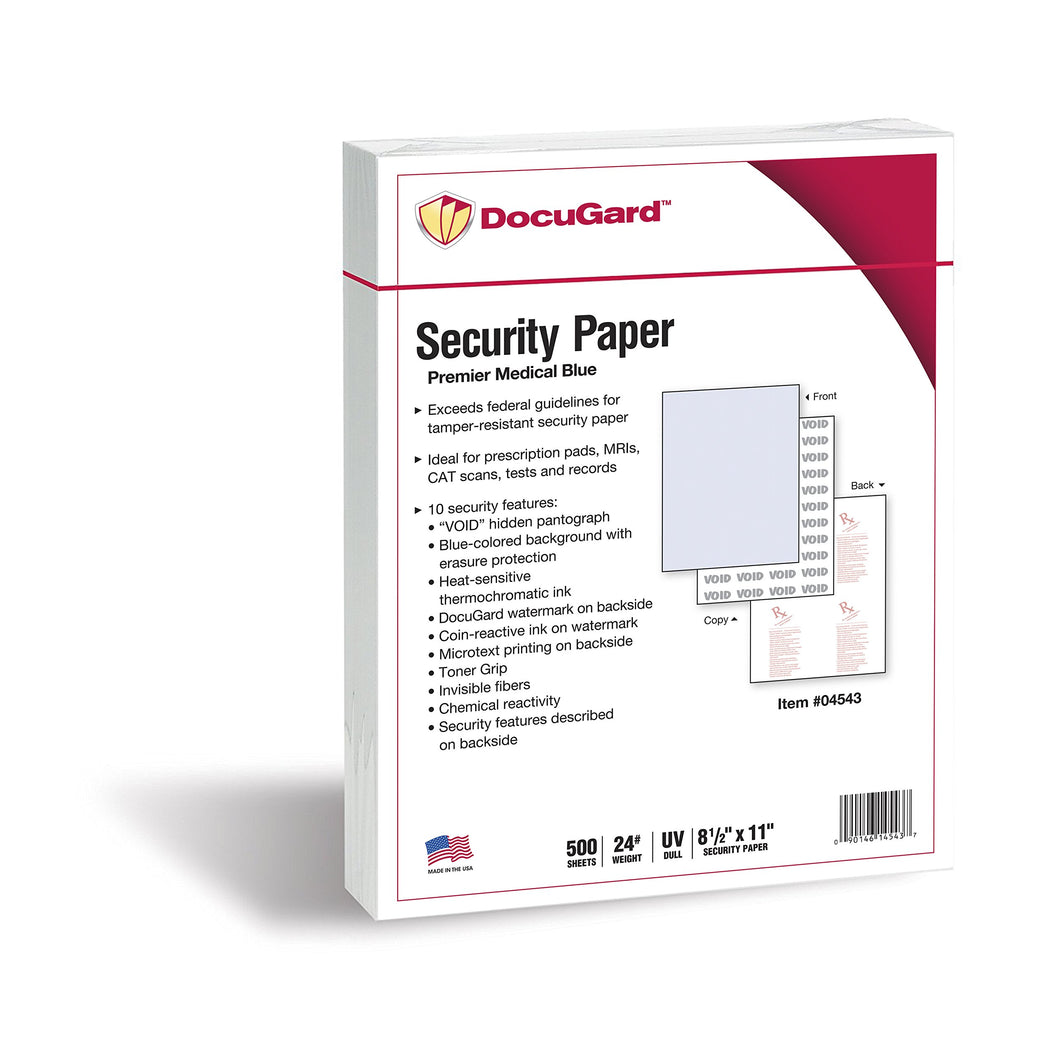 DocuGard Premier Medical Security Paper for Printing - Men Guide Store
