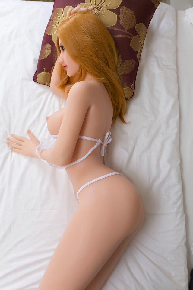 Julia Tall Blonde Japanese Real Sex Doll 165 cm - Silicone Sex Doll - Men Guide Store